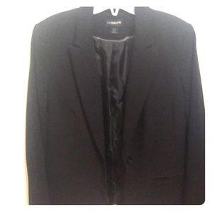 Liz Claiborne Suit Jacket-Black